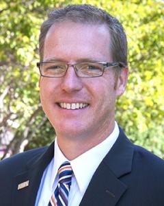 Corey Sjorquist. Photo by Pa Moua-Yang. University Communications.