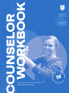 Cover of the 2021 Counselor Workbook