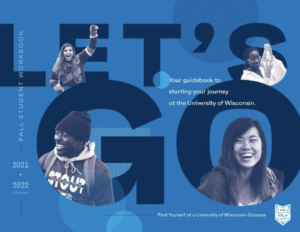 Cover of the 2021 Student Guidebook